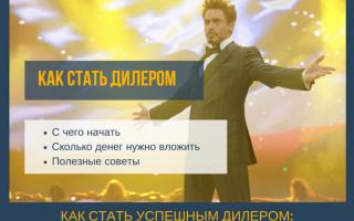 """Стать дилером ООО """"Промышленник"""""""