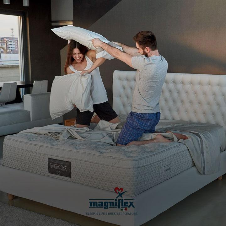 Стать дилером Magniflex, итальянская фабрика матрасов.